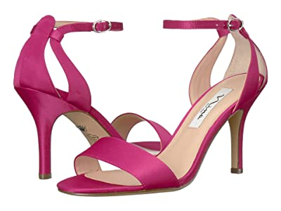 Nina Venetia (Berry Luster Satin) High Heels