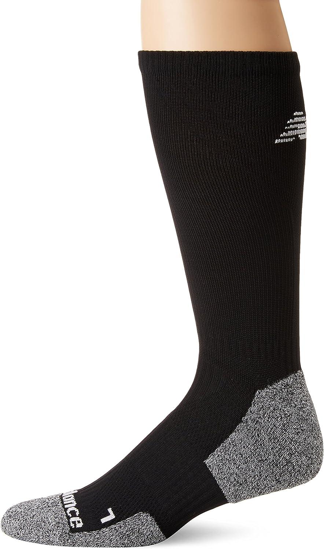 New Balance unisex-adult Cushioned Running Crew Sock-1 Pair