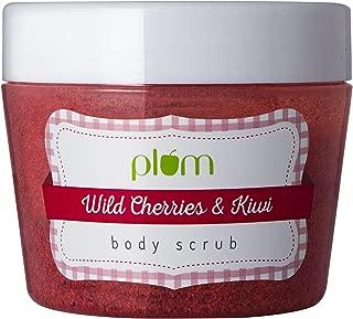 Plum Wild Cherries & Kiwi Body Scrub, 200 ml