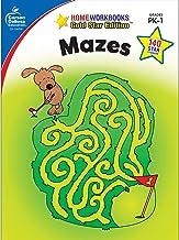 Carson Dellosa | Mazes Activity Workbook | Preschool–1st Grade, 64pgs (Home Workbooks)