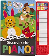 Baby Einstein - Discover the Piano Music Sound Book with Built-In Keyboard - PI Kids