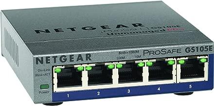 Netgear GS105E-200NAS PROSAFE PLUS 5 PORT GIGABIT SWITCH