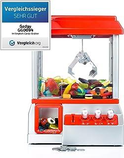 comprar comparacion Gadgy ® Candy Grabber con Boton Silencio | Maquina de Garra | Juego de Dulces | Caramelo Grabber