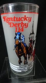 114th Kentucky Derby 1998 Official Souvenir Glass