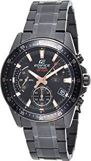 Casio Edifice Analog Black Dial Men's Watch - EFV-540DC-1BVUDF (EX415)
