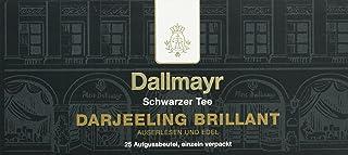Dallmayr Tee Aufgussbeutel - Darjeeling Brilliant, 25 Beutel, 1er Pack 1 x 50 g