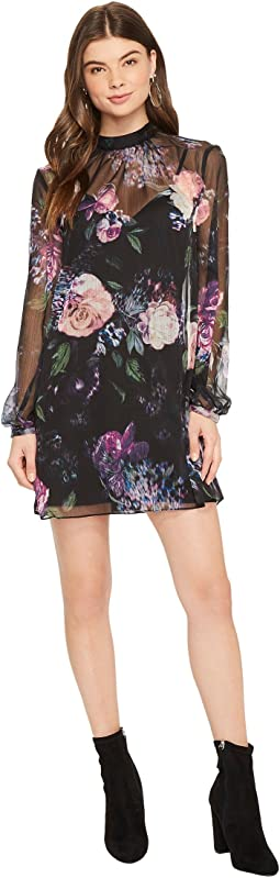 The Jetset Diaries - Peony Mini Dress