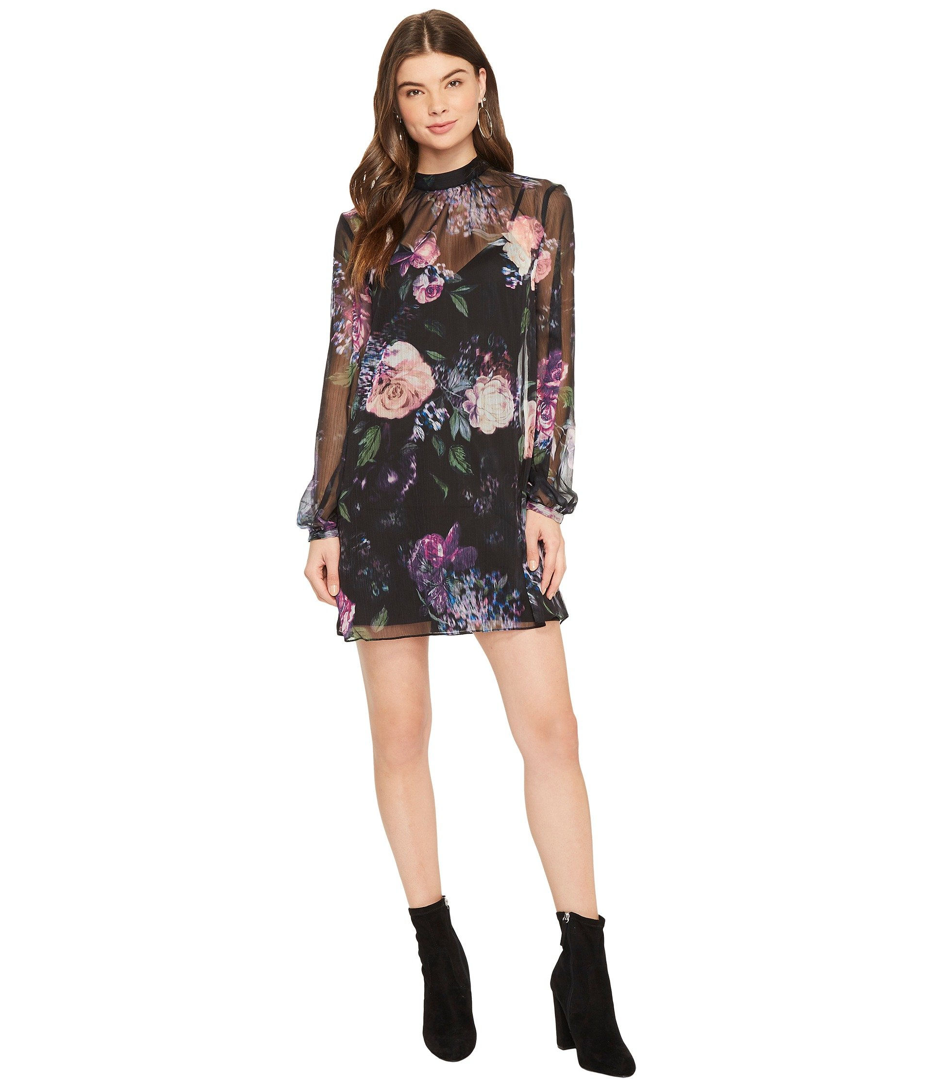 THE JETSET DIARIES Peony Mini Dress, Floral