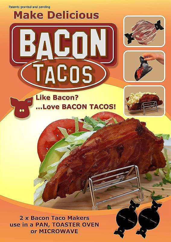 2 X Bacon Taco Makers