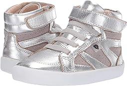 Silver/Grey Suede
