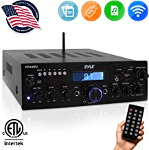 Wireless Bluetooth Power Amplifier System – 200W Dual Channel Sound Audio Stereo..