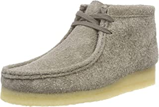 Clarks Originals Womens Grey Interest Wallabee Boots