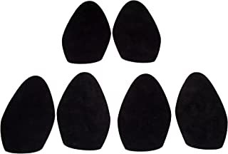 Stick-on Suede Soles for high-Heeled Shoes, with Industrial-Strength Adhesive Backing. Resole Old Dance Shoes or Convert Your Favorite Heels to Perfect Dance Shoes [SUEDE-LA-r04]