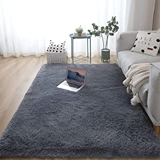 Soft Area Rugs Indoor Fluffy Rug Carpet Living Room...