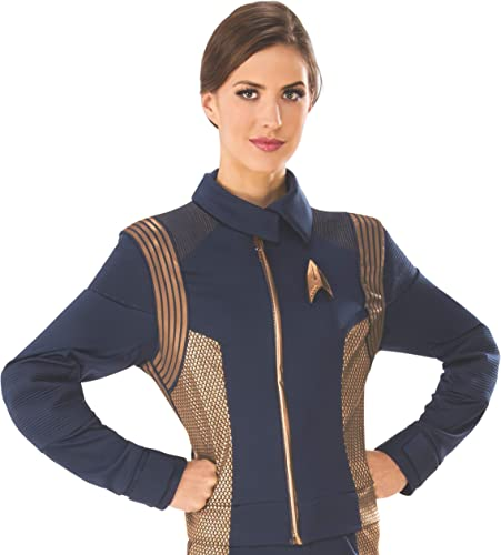 Star Trek Discovery Operations Uniform Copper Female Adult Costume Small