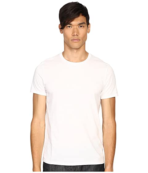 Vince Short Sleeve Pima Cotton Crew Neck Shirt