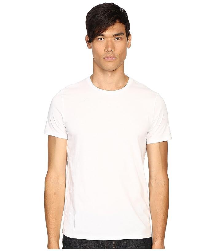 1950s Mens Shirts | Retro Bowling Shirts, Vintage Hawaiian Shirts Vince Short Sleeve Pima Cotton Crew Neck Shirt Optic White Mens Short Sleeve Pullover $65.00 AT vintagedancer.com