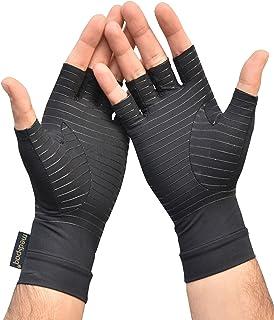 Medipaq Anti Artritis Vingerloze Koper Compressie Therapie Handschoenen