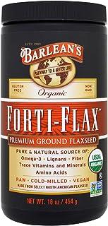 Barlean's, Organic Forti-Flax, Premium Ground Flaxseed, 16 oz (454 g) - 3PC
