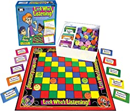 Super Duper Publications Look Who`s Listening Auditory Memory Board Game (New Smaller Packaging) Educational Learning Resource for Children