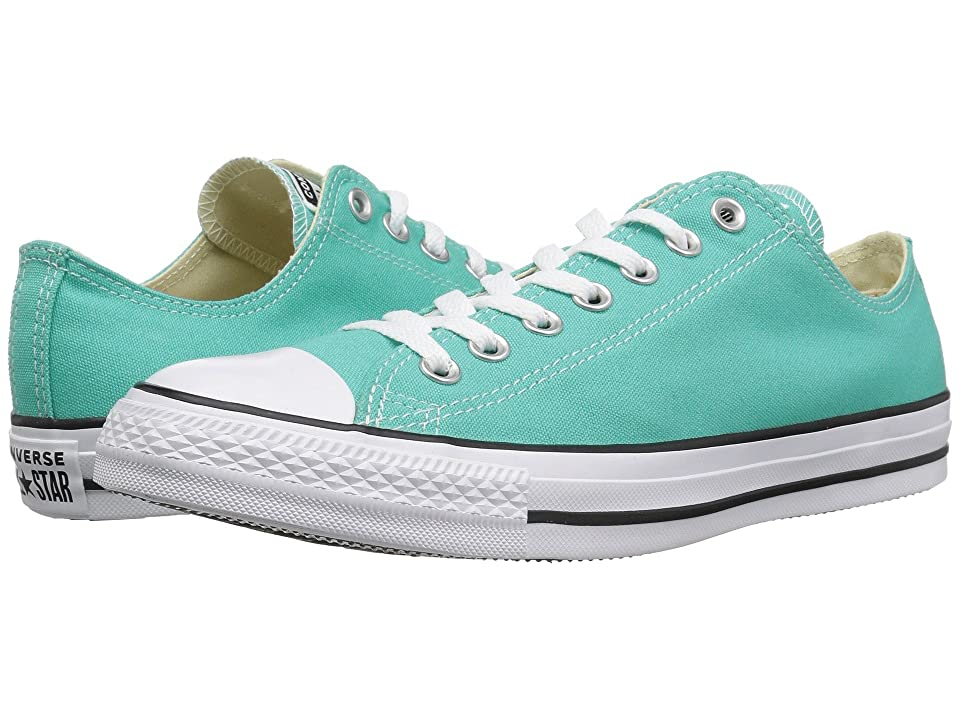 Converse Chuck Taylor All Star Seasonal Ox (Pure Teal) Athletic Shoes