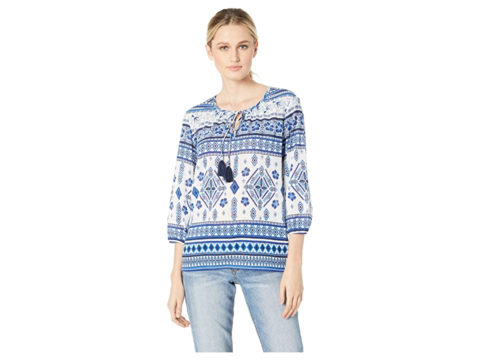 Tommy Bahama - Tommy Bahama Tapa 'Bout It Peasant Top