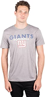 Ultra Game NFL Men's Athletic Quick Dry Tee Shirt