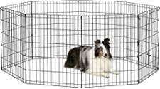 New World Pet Products Foldable Metal Exercise Pen & Pet Playpen