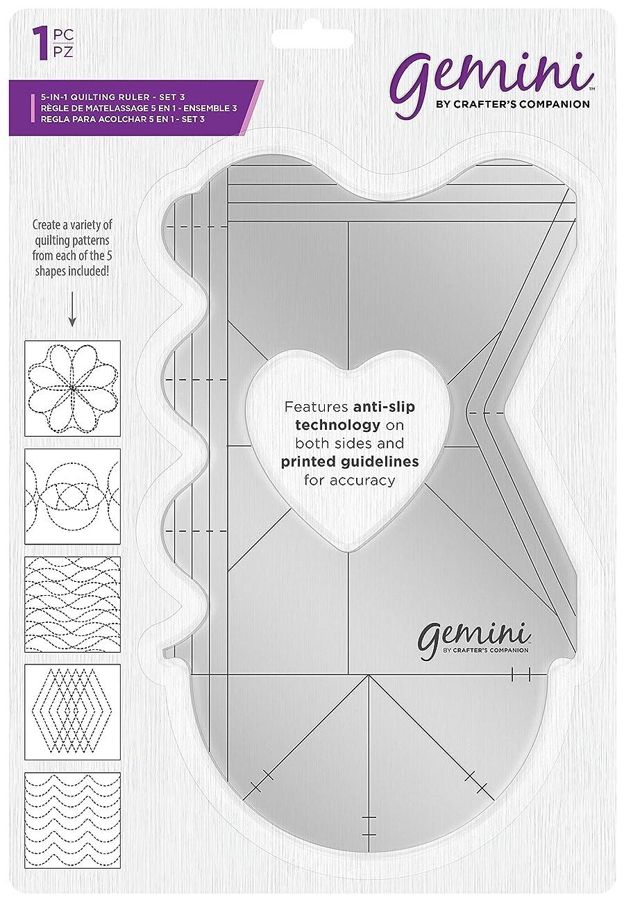 Gemini Quilting Ruler-Set 3, Various