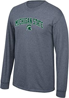 Elite Fan Shop Men's Ncaa Long Sleeve Shirt Dark Heather Arch Ncaa Long Sleeve Shirt Dark Heather Arch