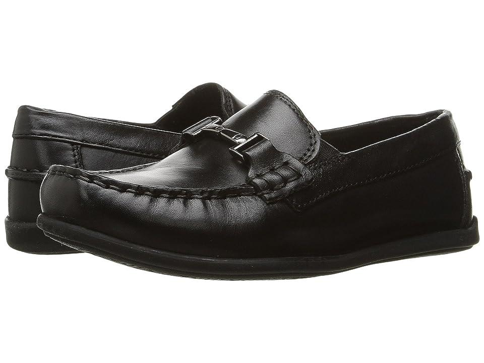 Florsheim Kids Jasper Bit, Jr. Loafer (Toddler/Little Kid/Big Kid) (Black) Boys Shoes