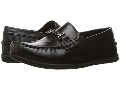 Florsheim Kids Jasper Bit, Jr. Loafer (Toddler/Little Kid/Big Kid) (Black) Boys Shoes