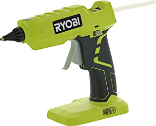 Ryobi P305 One+ 18V Lithium Ion Cordless Hot Glue Gun w/ 3 Multipurpose Glue Sticks..