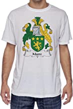 Moore Coat of Arms-Family Crest, Moister Wicking Sports T-Shirt