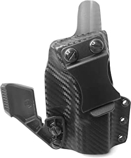 Carbon Fiber Black & Grey KYDEX IWB/Appendix Carry Holster - Choose Model