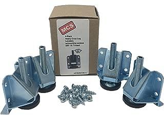 MCS280100-4 Heavy Duty Adjustable Leg Leveler Set