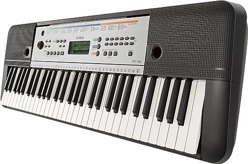 Yamaha - YPT-255 - Clavier Arrangeur - 61 Touches - Noir