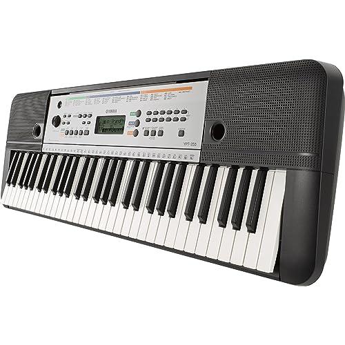 Yamaha YPT-255 - Teclado electrónico (61 teclas, 385 sonidos), color