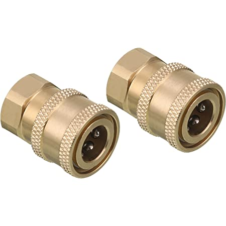 Quick Connect 1//4/'/' Plug with Female NPT Tool Daily Pressure Washer Coupler