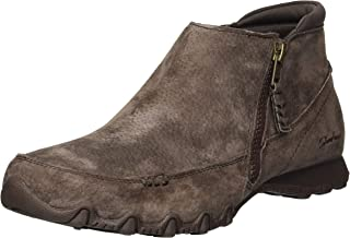 Women's Bikers-Zippiest-Moc-Toe Outside Zip Bootie Ankle Boot
