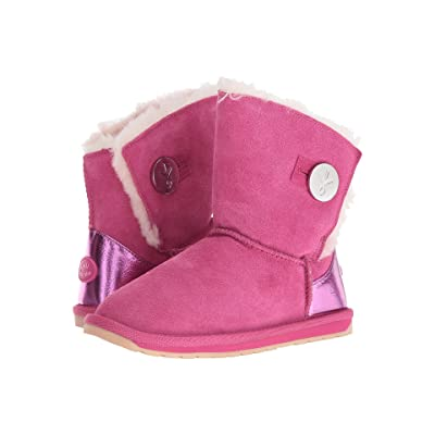 EMU Australia Kids Denman (Toddler/Little Kid/Big Kid) (Hot Pink) Girls Shoes
