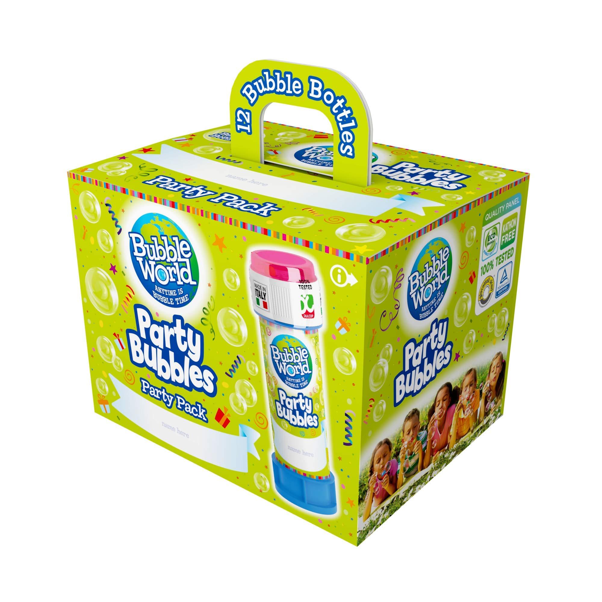 Dulcop- Party Pack, 12 tubos de 60 ml de burbujas de jabón 414.0720000: Amazon.es: Juguetes y juegos