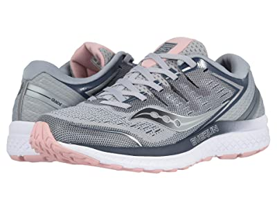Saucony Guide ISO 2 (Grey/Blush) Women