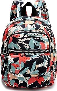 Nylon Small Backpack for Women Waterproof Mini Backpacks Light Outdoor Travel Mini Backpack Purse Cute Backpacks for Teen Girls Daypack for Women