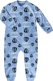 Outerstuff MLS Boys Sleepwear Zip Up Coverall