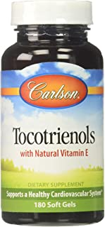 Carlson Labs Tocotrienols Softgels, 180 Count