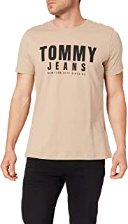 Tommy Jeans TJM Center Chest Tommy Graphic Camiseta para Hombre