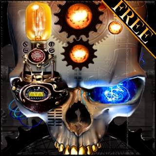 Steampunk Skull Free Live Wallpaper