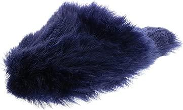 Ellen Tracy Women's Super Soft Faux Fur Mule Slippers