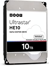 HGST Ultrastar He10 | HUH721010ALE600 (0F27452) | Power Disable | 10TB SATA 6.0Gb/s 7200 RPM 256MB Cache 3.5in HDD | 512e | Enterprise Hard Drive (Renewed)
